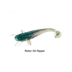 FishUp - Catfish 3 Inch - Motor Oil Pepper