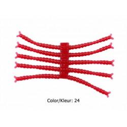 Perch'ik - 1 Inch - Bloodworm - Kleur 24