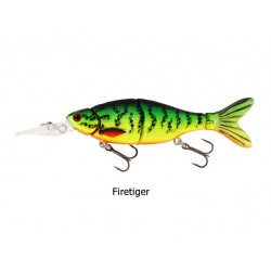 Westin - Ricky The Roach - Hard Lure - 8 Cm - 7 Gr - Crazy Firetiger - Sinking