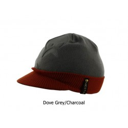 Westin - Visor Beanie - One Size - Dove Grey/Charcoal