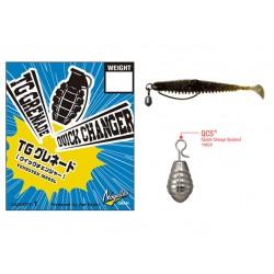 Nogales - Tungsten Grenade Sinker - Quick Changer