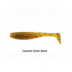 FishUp - Wizzle Shad - 2 Inch - Caramel Green Black