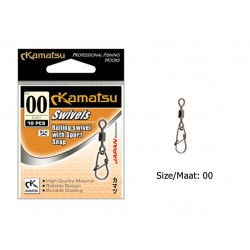 Kamatsu - Rolling Swivel with Sport Snap