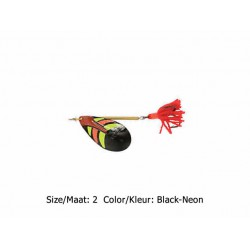 Ondex - Classic Spinner - Maat 2 - Kleur - Black-Neon